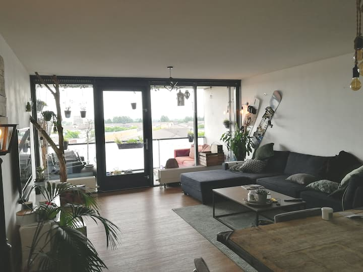 Room in big apartment nearby city (covid proof)