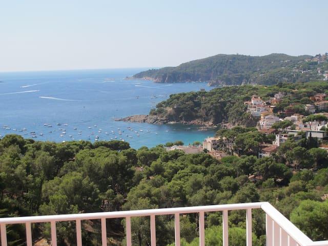 Appartement , vue sur mer exceptionnelle,llafranc