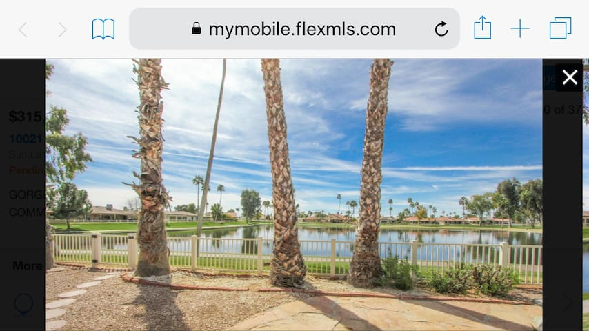 Your Lakefront Home in Sun Lakes, AZ
