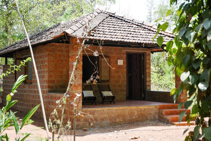 Dudhsagar Farmstay - Spacious Cottage with pool 01