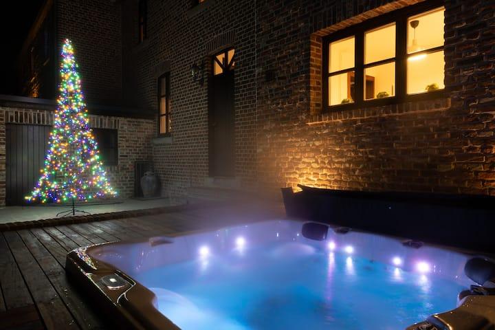 Gezellige vakantiewoning met jacuzzi in Limburg