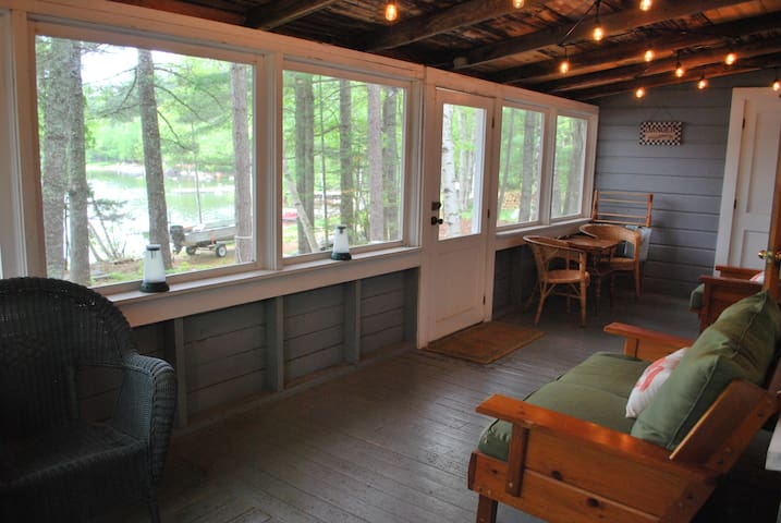 Lakefront cabin, close to Baxter SP - Millinocket - Dom