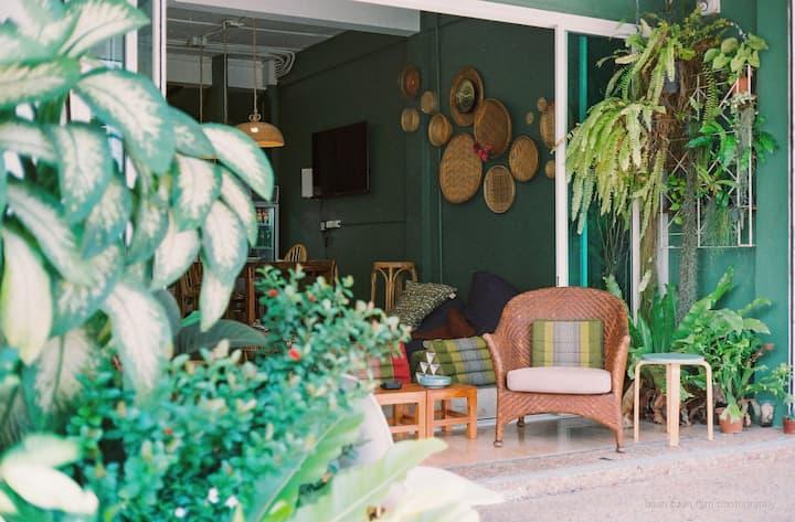 Bed in 8-bed dorm · Bed in 8-bed dorm · Bed in 8-bed dorm · Homey mixed dorm room at Phuket old town