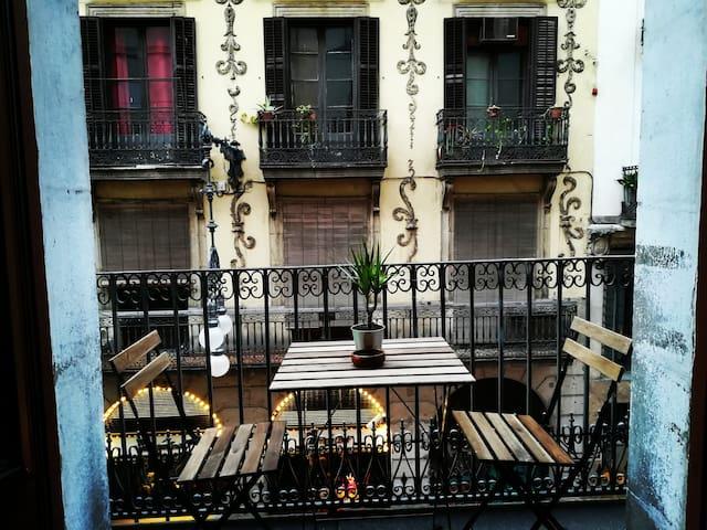 ¡Linda habitación en el corazón del barrio Gótico!