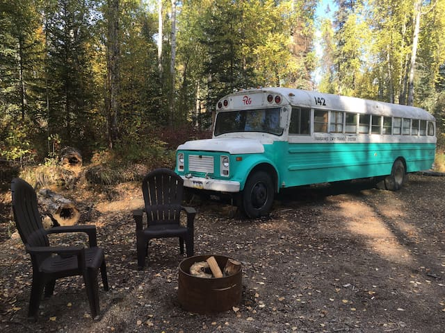 Talkeetna Into the Wild Bus