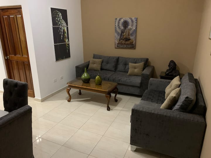 Central apartment in Gazcue on an 8th floor