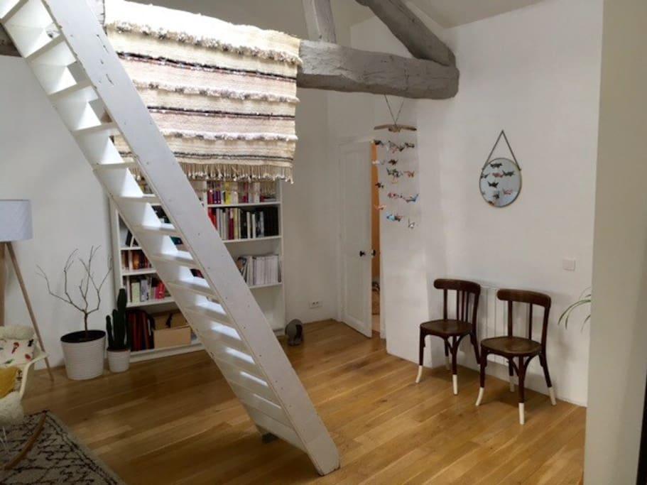 70m2 loft in the city center lofts for rent in grenoble auvergne rh ne alpes france. Black Bedroom Furniture Sets. Home Design Ideas