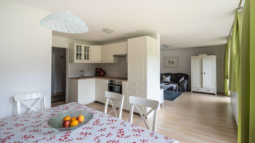 Landhaus Riedl Wohnung Arnspitz - Scharnitz - Apartamento