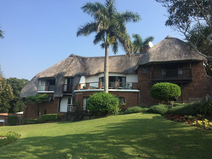 African thatched holiday gem