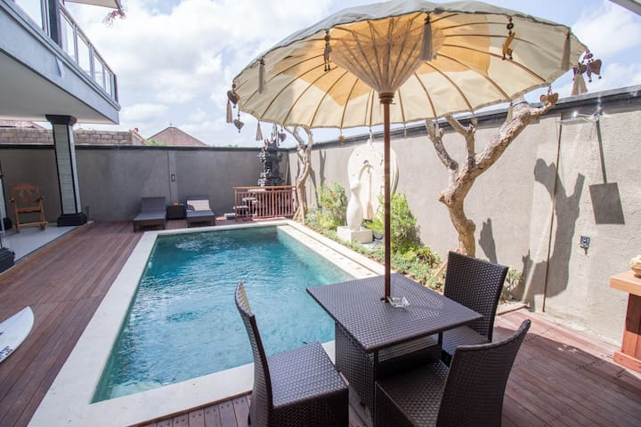 Clean & Comfortable Canggu House, Fiber Wifi #5 - Kuta Utara - Bed & Breakfast