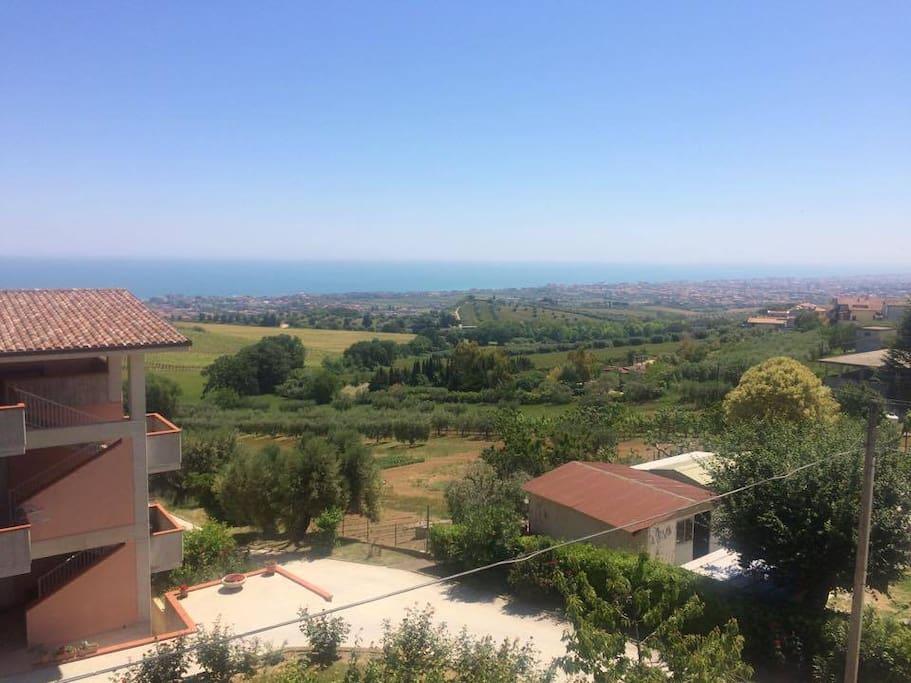 Panorama del Mare Adriatico