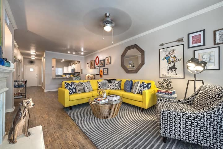 Stay in a place of your own | 2BR in Dallas