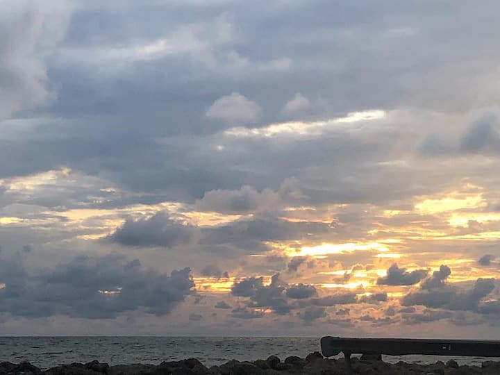 Cartagena nos recibió con un cielo mágic