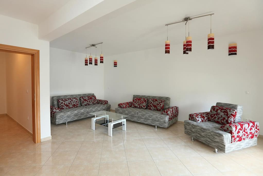 Living room, Surface: 23 m²