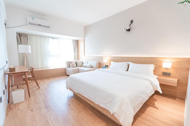 【麓屿】久念  七彩云南第一城超大投影日式极简清新居室