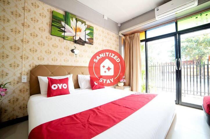 Deluxe Triple room in Krung Kao Traveller Lodge