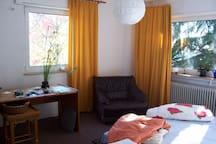 Gemütliches Zimmer mit Blick auf Himalaya Zeder