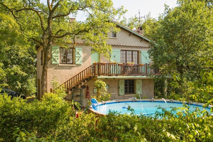 La Maison du Saut de la Mounine (4) - Saujac - Casa