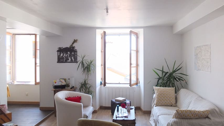 Charmant appartement - Beaupréau-en-Mauges - Apartemen