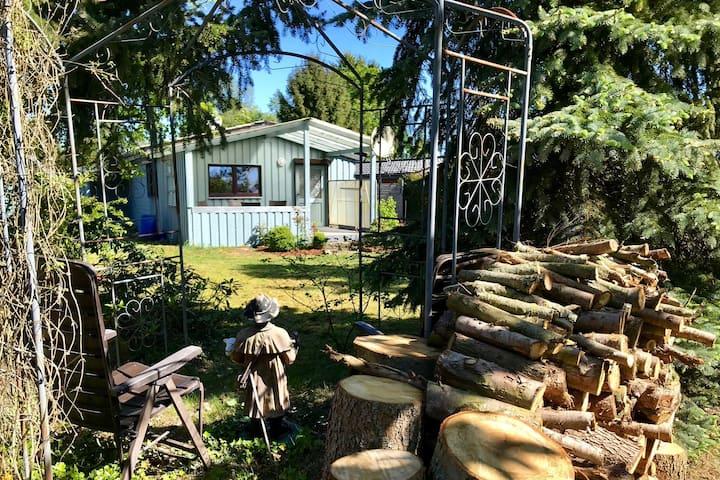 """Ferienhaus """"Fellnase""""  mit eingezäuntem Garten"""