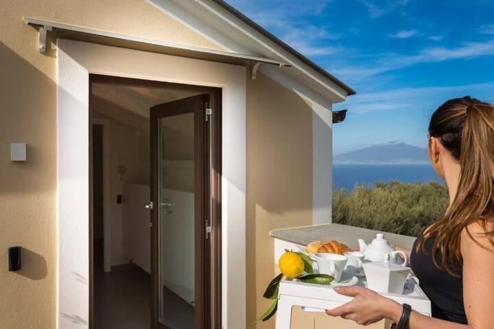 Junior Suite con Terrazza e Vista Mare