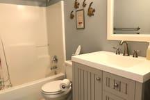 Private bathroom - full tub/shower