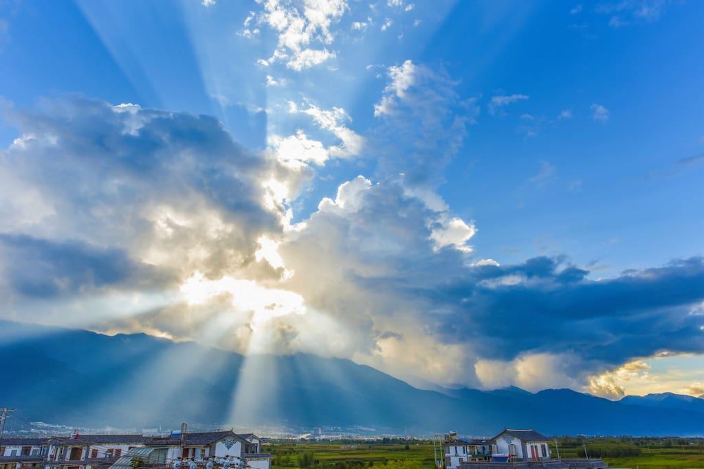 览山--露台观苍山