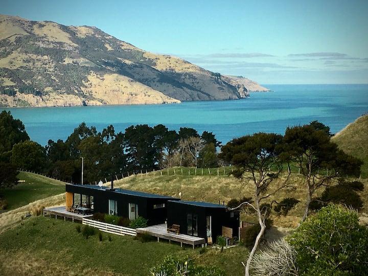 The Black House - Akaroa Harbour