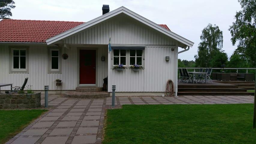 "Beautiful country house on island ""Tjörn"""
