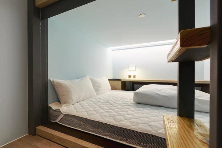 Double Bed in Mixed Dorm#TaipeiMainStation1min