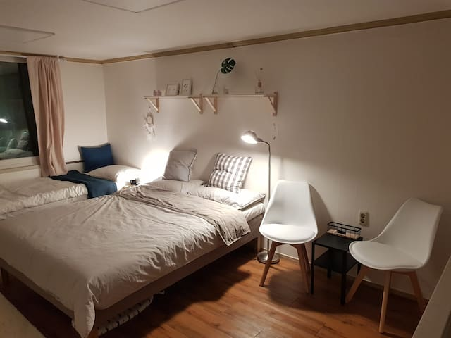 (New)Private Cozy Room#8 Poket WiFi in Dongdaemun
