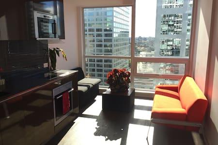 Modern Furnished Luxury studio - Ottawa Downtown! - Kondominium