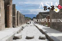 The Beautiful Pompeii, only 1800 meters away