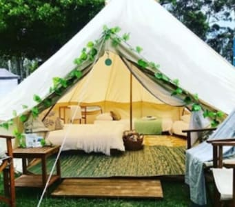 South Coast Luxury Camping Set Up For You! Tathra