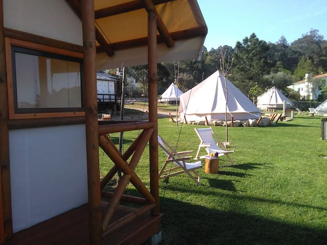 Glamping Tent 3 & Safari Tent - Nature on Beach