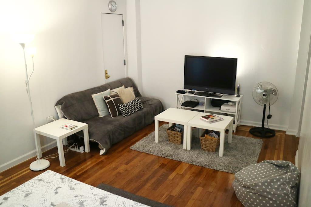Living Room - TV Area