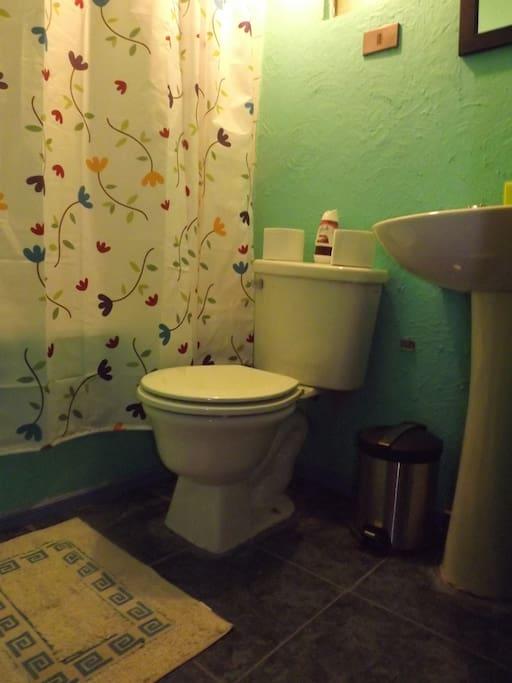 Baño compartido máximo 2 personas más