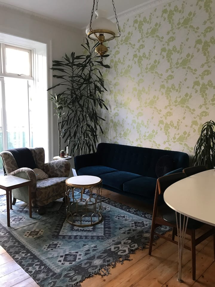 Nice room in an apartment in Frederiksberg C