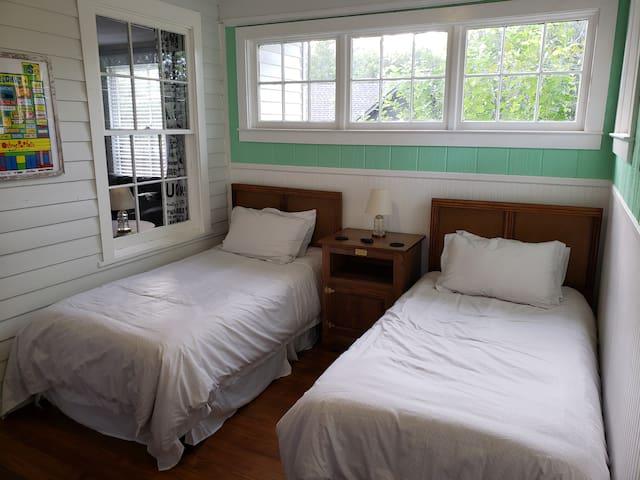 Porch Bedroom - Looking from the Front Door