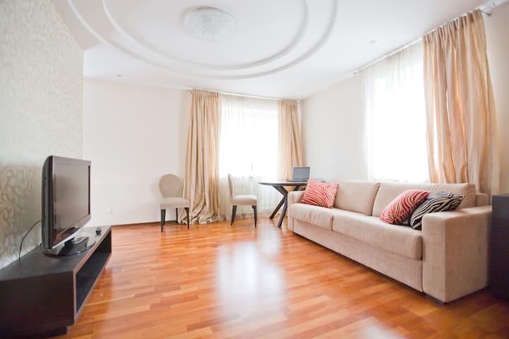 Великолепная квартира на природе - Зеленогорск - Apartemen