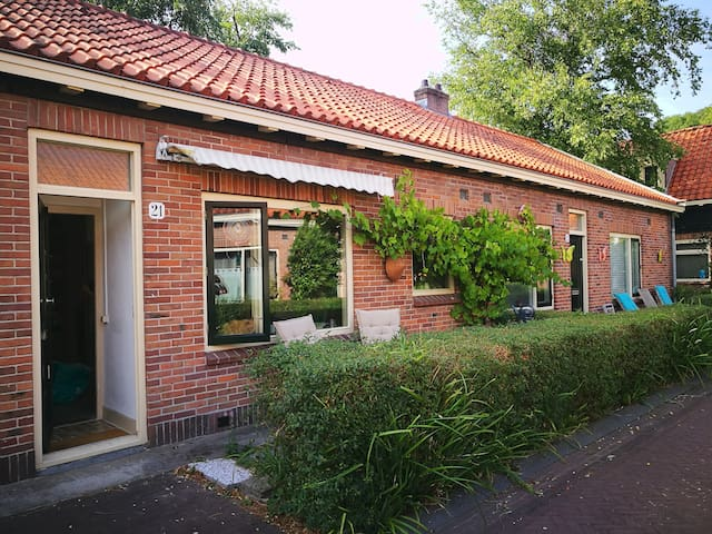 Monumental house in tranquil area of Amsterdam