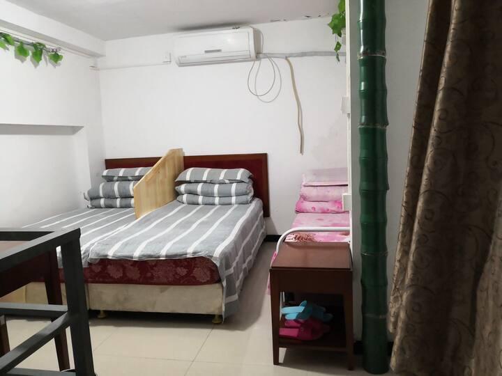 三元桥国展附近西坝河北三环loft复式一居室整间便宜出租独立卫浴