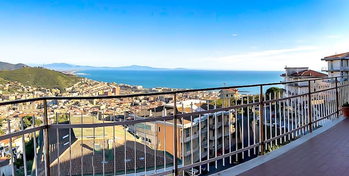 ❋ Panoramic Apartment ❋  Salerno • sea view