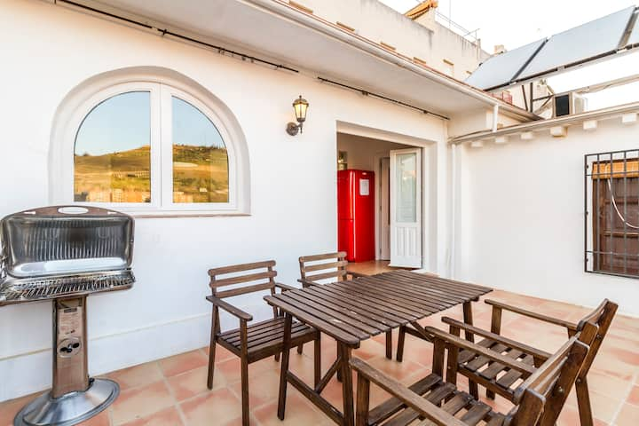 Apartamento centrico en Granada con terraza