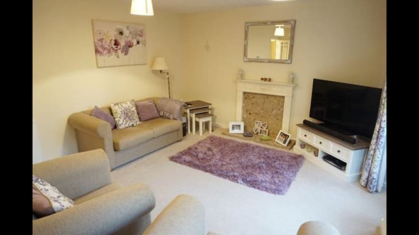 Perfect 2 bed flat for exploring Cardiff - Cardiff - Huoneisto