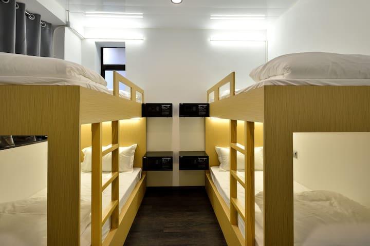 Bunk Bed Room #10 Tsim Sha Tsui MTR Exit B1