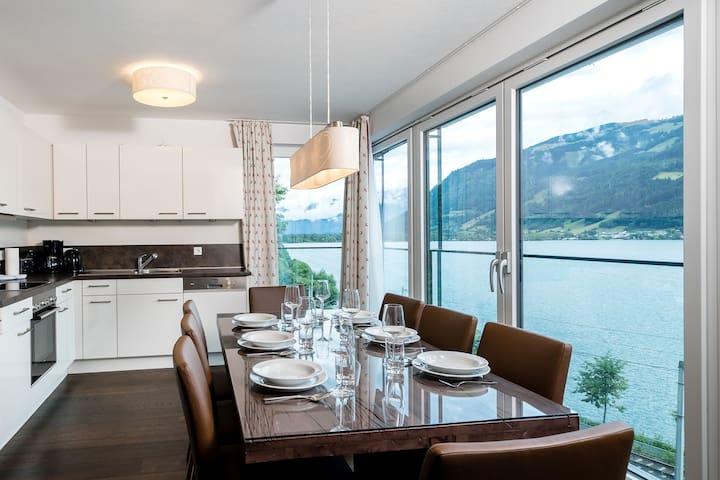 Modernes Apartment in Zell am See mit Sauna