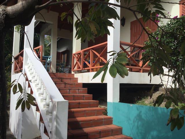 Views over Clark's Court Bay Tamarind Top Cottage