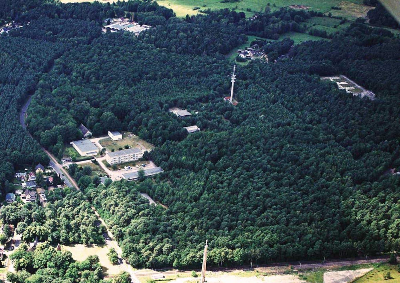 Luftbild vom Gelände