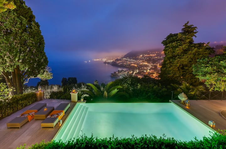 Best Monaco view, brand new VILLA, ultimate luxury